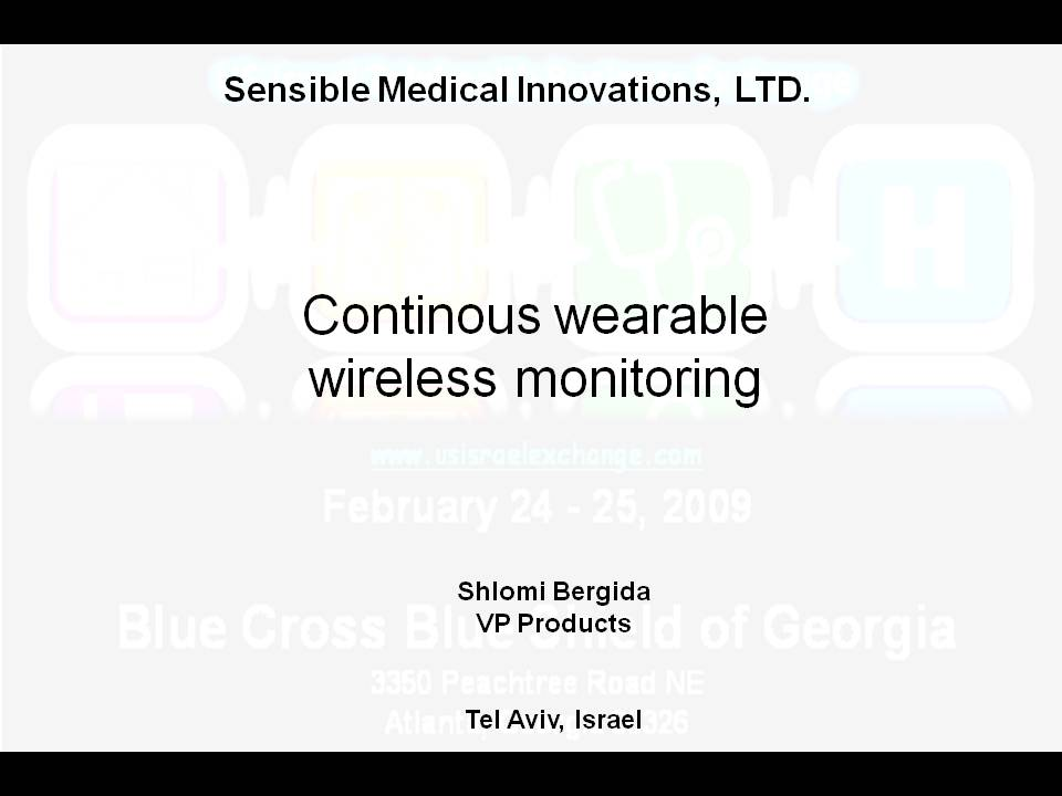 Sensible Medical Innovations